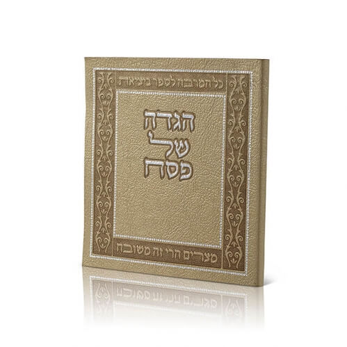 Haggadah Square Large p.u Soft