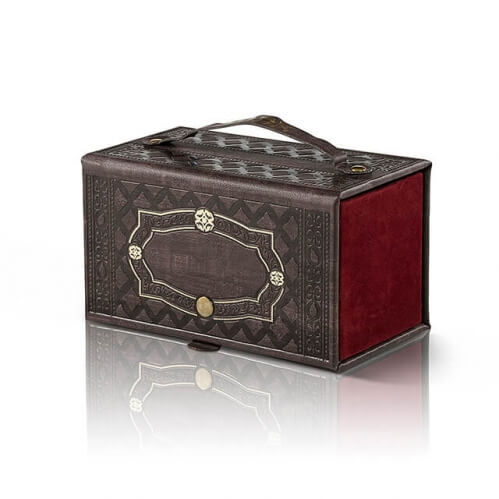 Etrog Box Leatherette p.u