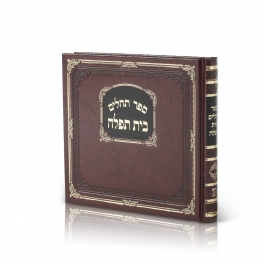 Tehilim  Album  Medium Hard Cover