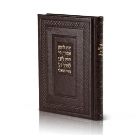 Tehilim Medium Leatherette p.u